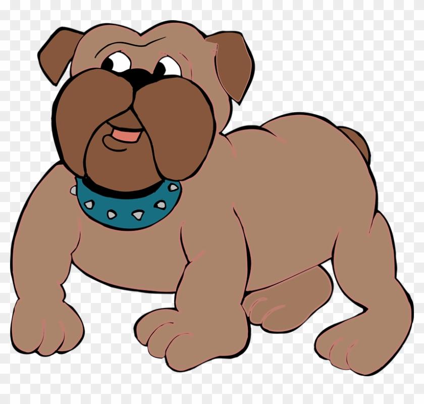Bulldog Clipart Free - Bull Dog Clip Art #4195