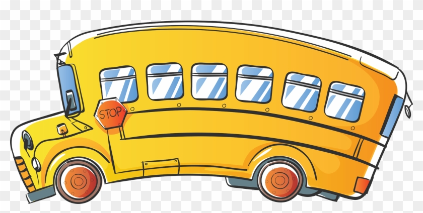 School Bus Png #4168