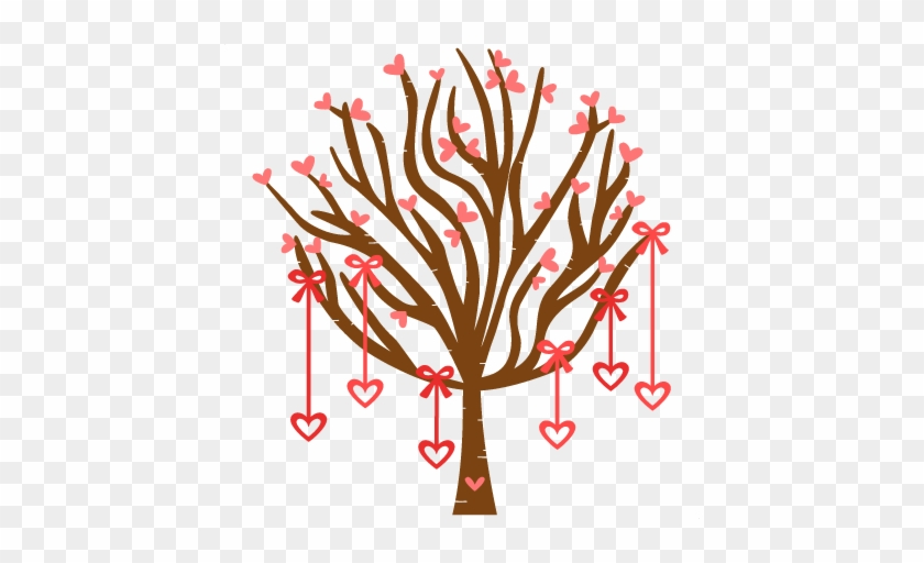 Heart Tree Scrapbook Cut File Cute Clipart Files For - Scalable Vector Graphics #4172