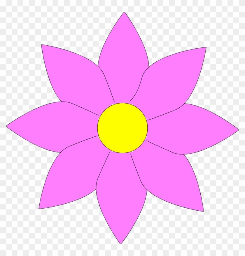 Sunflower - Clipart Flower No Background #4212