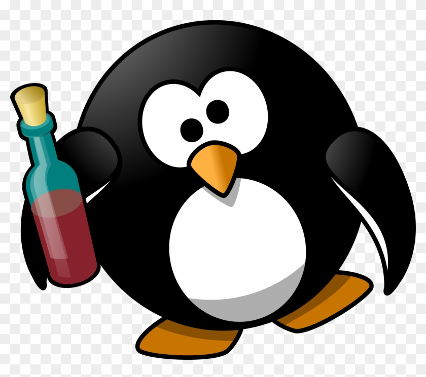 Big Image - Drunk Penguin #4174