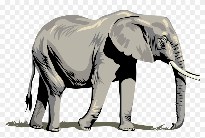 This Free Clip Arts Design Of Elephant Png - Elephant Clipart Png #4188