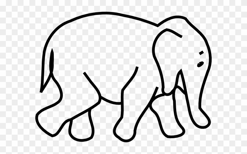 Clipart Info - Elephant Clipart Black And White #4193