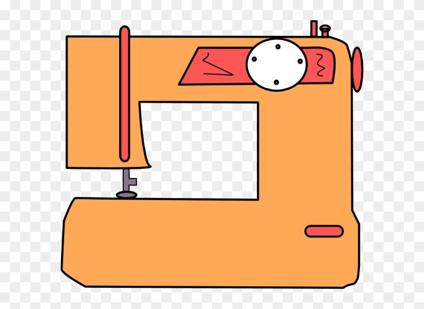Sewing Machine Cartoon Png #4319