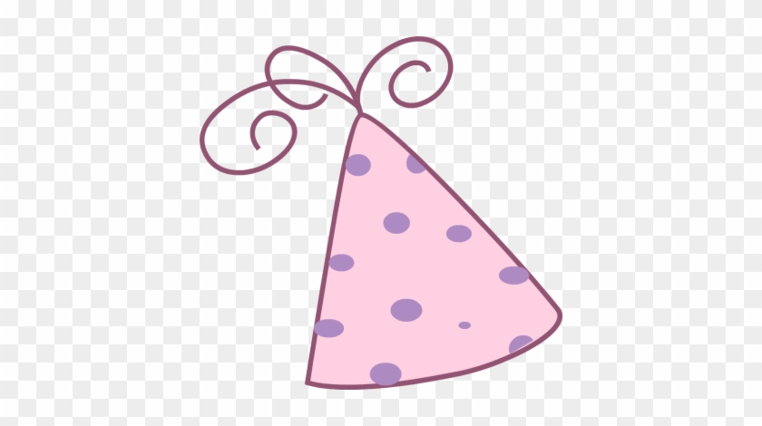 Pink Birthday Hat Clip Art - Pink Party Hat Png #4279