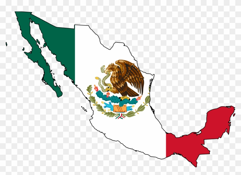Mexican Flag Clip Art - Mexico Png #4242