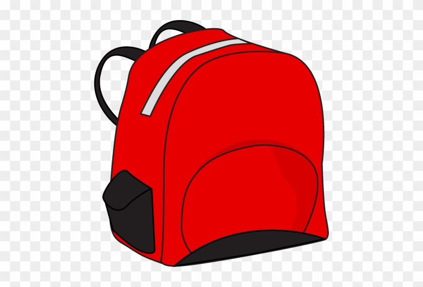 This School Backpack Clip Art Free Clipart Images - Bag Red Clip Art #4294