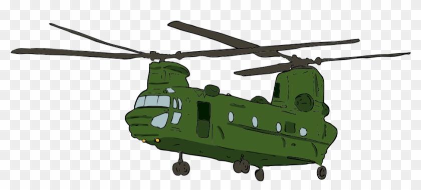 Clip Art Details - Ch 47 Chinook Clip Art #4261