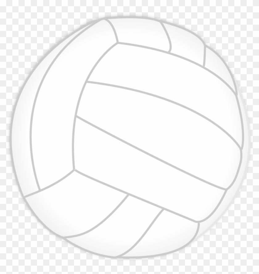 Free Beach Ball Black And White Clipart - Beach Ball Black And White #4271
