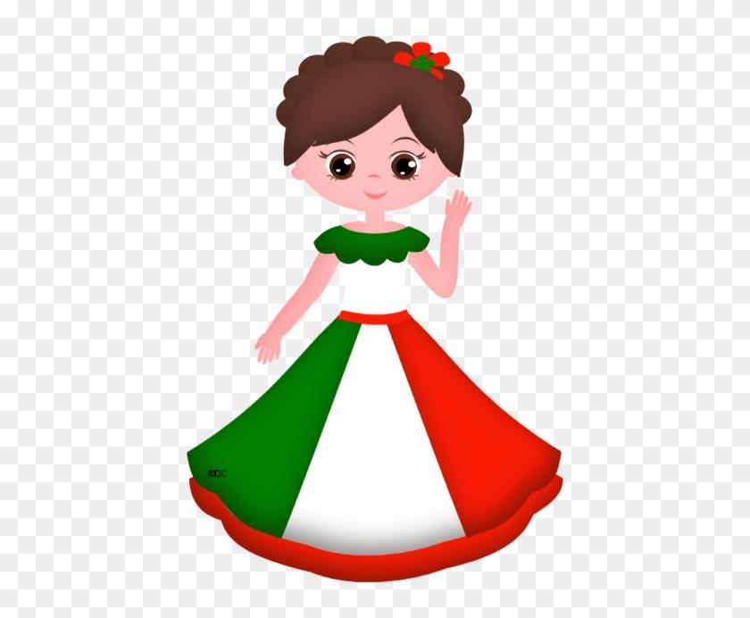 Pessoas Do Mundo - Muñequitas Mexicanas Con Nombres #4316