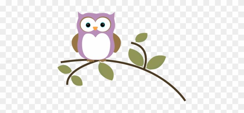 Owl On A Leafy Branch - Owl On A Leafy Branch #45