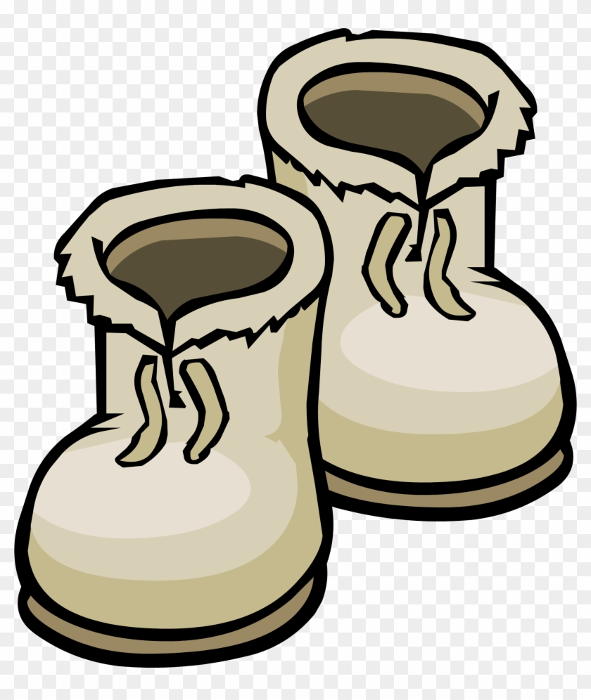 Winter Boots Clipart Kid - Snow Boots Clipart #4368