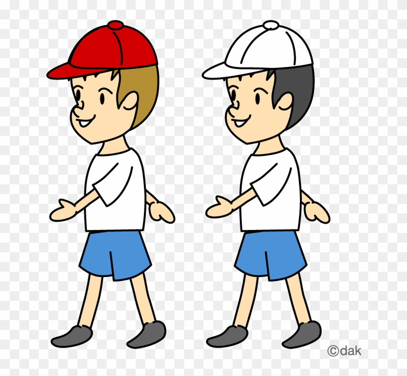 Clipart Walking Collection - Clip Art #4318
