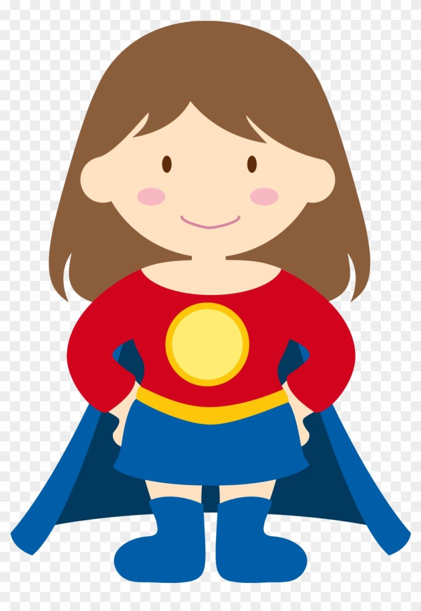 Kids Dressed As Superheroes Clipart Oh My Fiesta For - Superhero Clipart #4360