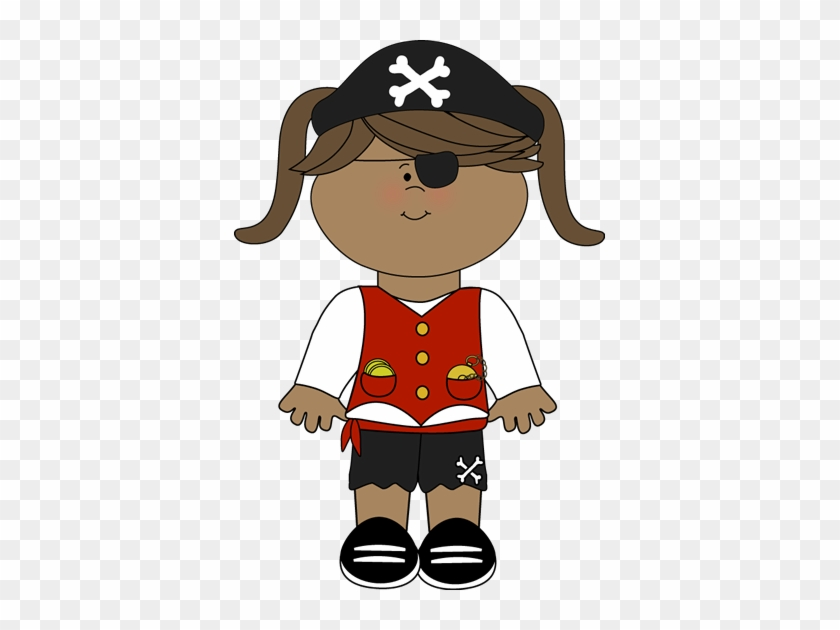 Pirate Girl - Pirate Girl Clip Art #4381
