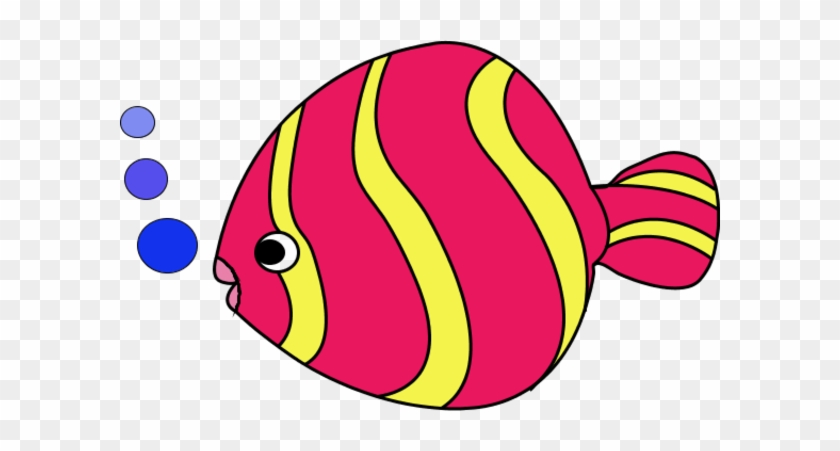 Fish Clipart - Colorful - Zebra Puzzle #4403