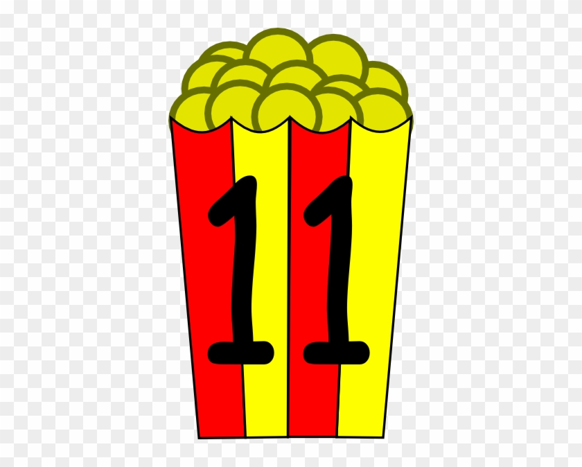 Candy 11 Clip Art At Clker - Popcorn Box Clip Art #4374