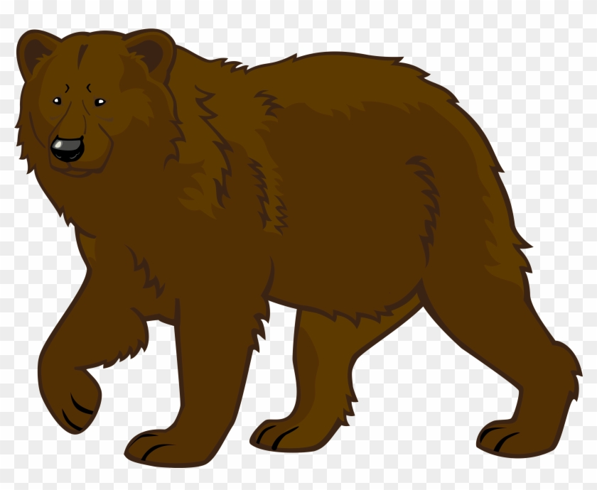 Brown Bear Png Clipart - Bear Clipart Png #4449