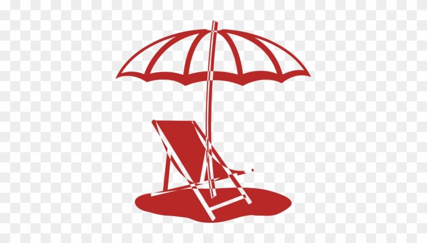 Related Pictures Beach Chair Clip Art Beach Umbrella - Beach Chair And Umbrella #4411