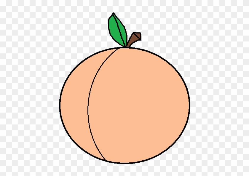 Peach Clipart Free Clip Art Images - Peach Fruit Clip Art #4458