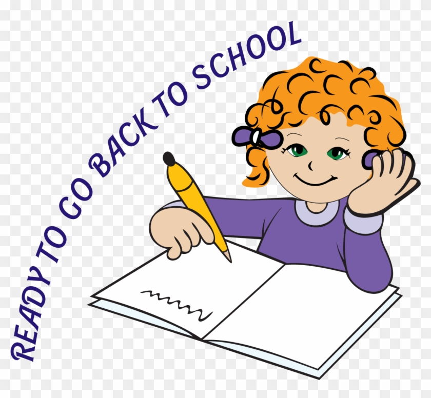 Cut Ready Clipart - Ready To Go Back To School #4413