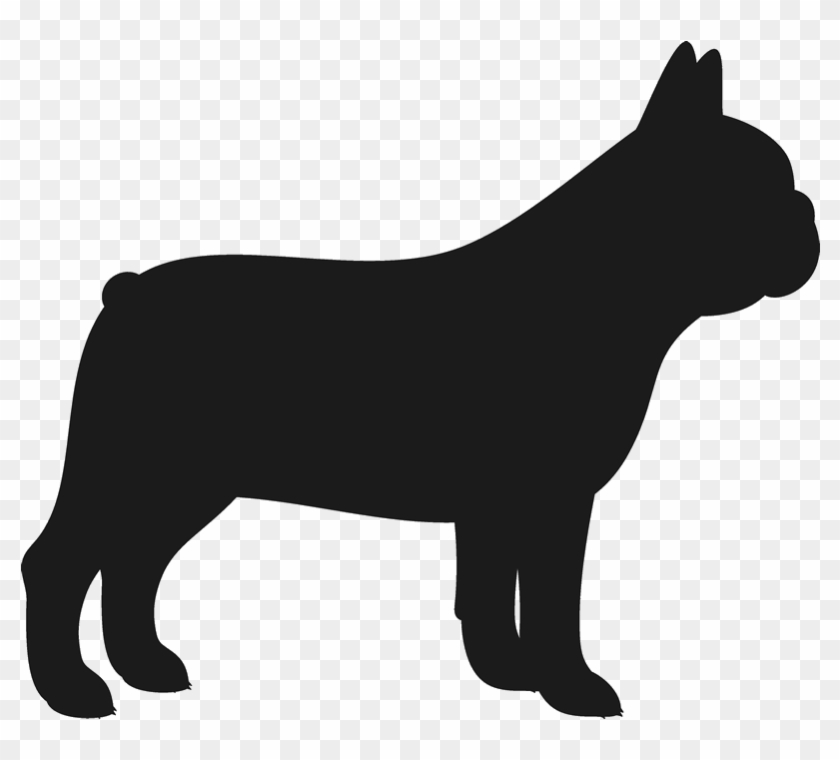 French Bulldog Stamp Dog, Cat Amp Fur Baby Stamps - French Bulldog Silhouette #4456