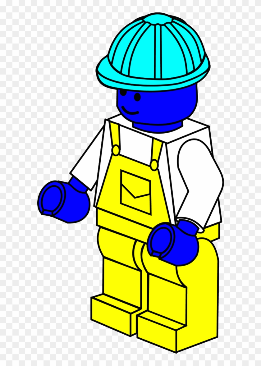 Lego Clip Art - Lego Colouring Pages Free #4451