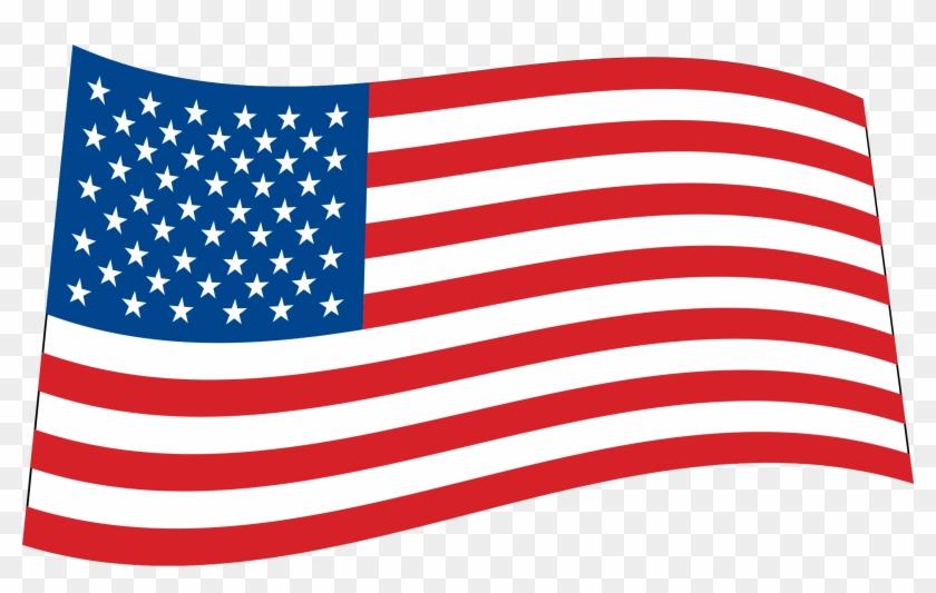 U - S - A - Flag - American Flag Waving Png #4531