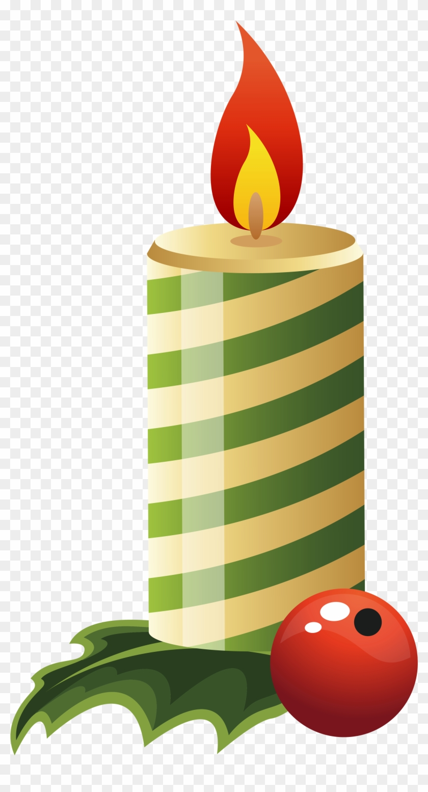 Candle Clipart Png #4529
