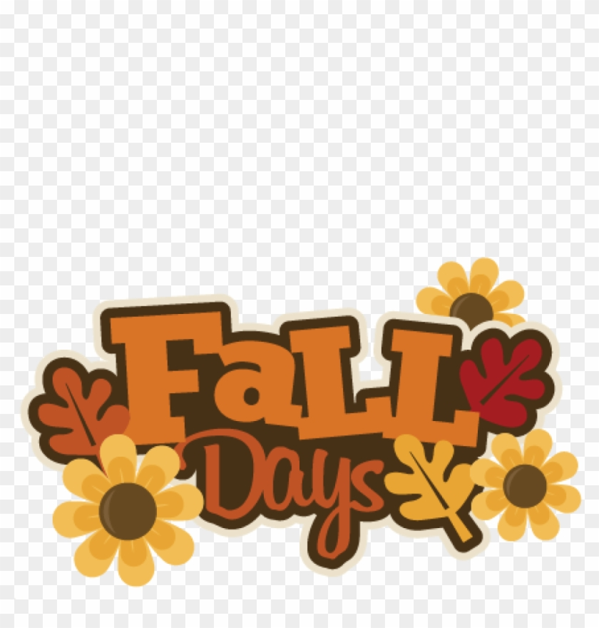 Fall Clip Art Images Free Imagesclipartpandafall Clipart - Fall Days Clipart #4557