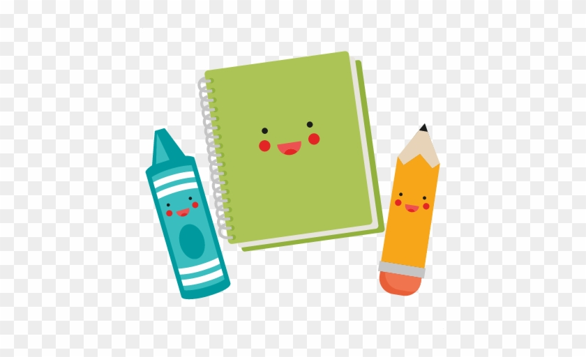 Discover Ideas About School Clipart - Kawaii School Supplies Clipart #4593