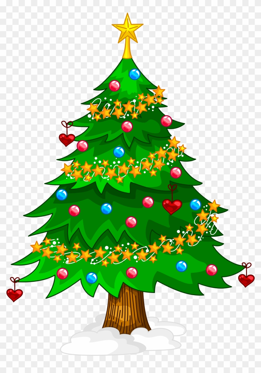 Christmas Tree Clip Art Png - Christmas Day #4568
