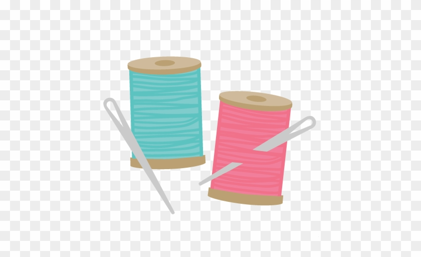Deluxe Needle And Thread Clip Art Needle Thread Svg - Sewing Thread And Needle #4588