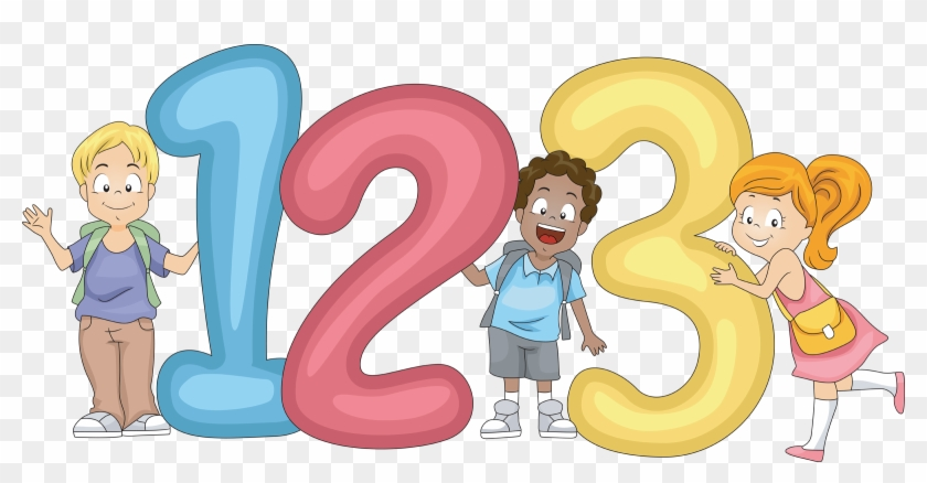 Number Clipart For Kid Png - 123 Clipart Png #4573