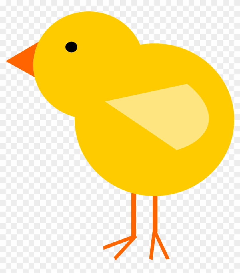 Clip Art Image Chick - Baby Chicken Cartoon Png #4642