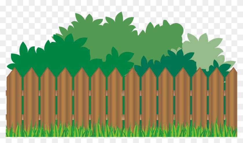 Garden Background Clipart - Backyard Clip Art #4651