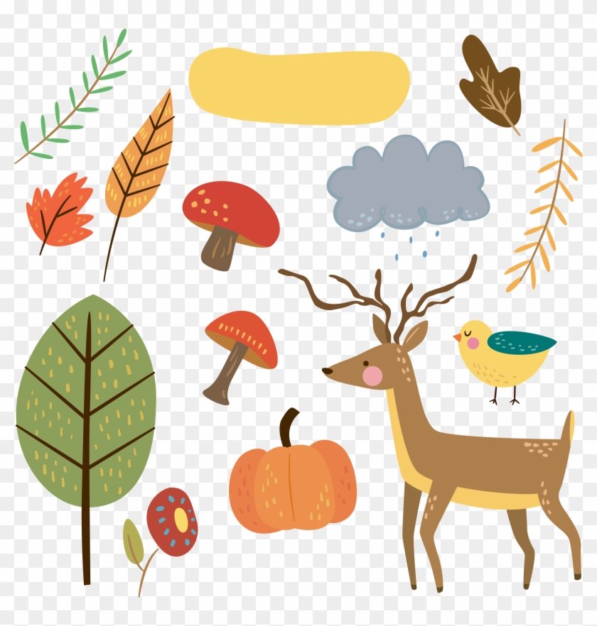 Free Critter Autumn Planner Stickers And Clip Art - Autumn Stickers Png #4679