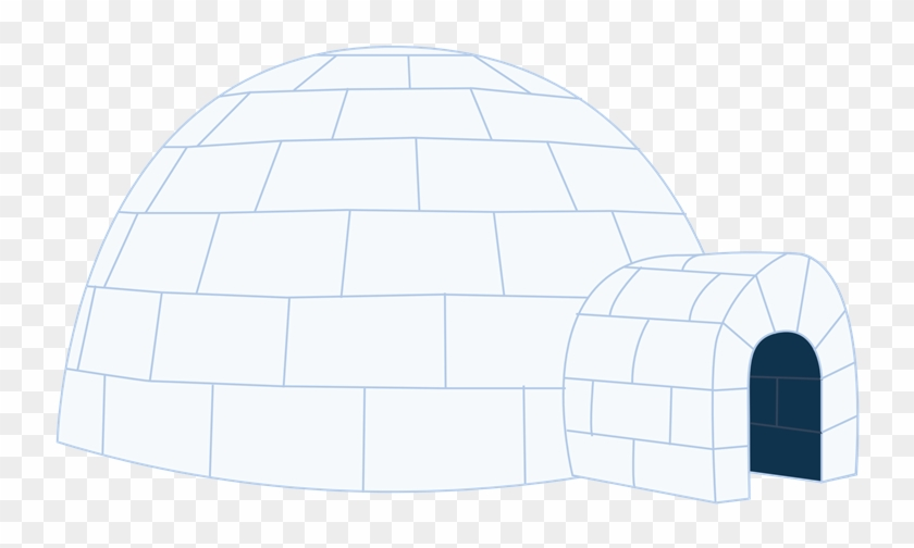 Igloo Free To Use Clip Art - Architecture #4617