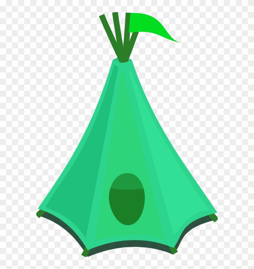 Tent Clip Art - Indian Tent Clip Art #4695