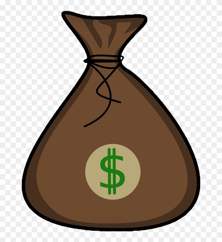 Clipart Info - Money Bag No Background #4724