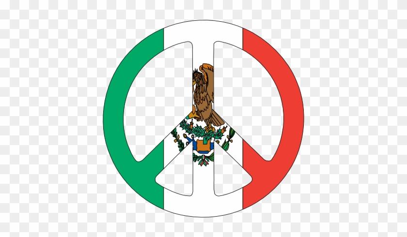 Mexican Flag Clip Art - Peace Italian Flag #4669