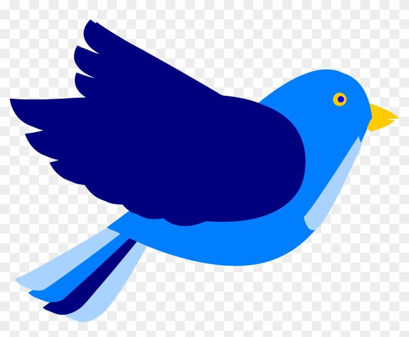 Pretty Yellow Bird Clip Art The Graphics Fairy - Bird Clipart Png #4687