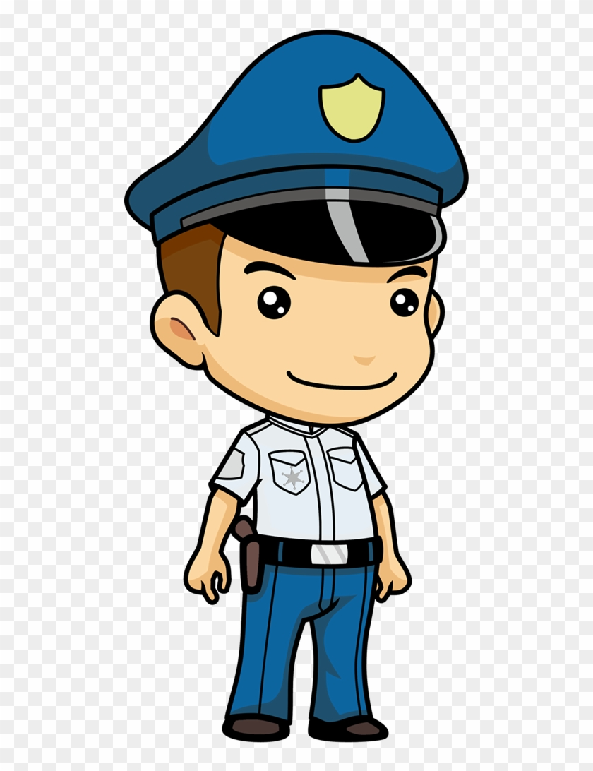Clipart Info - Police Officer Cartoon Png #4706