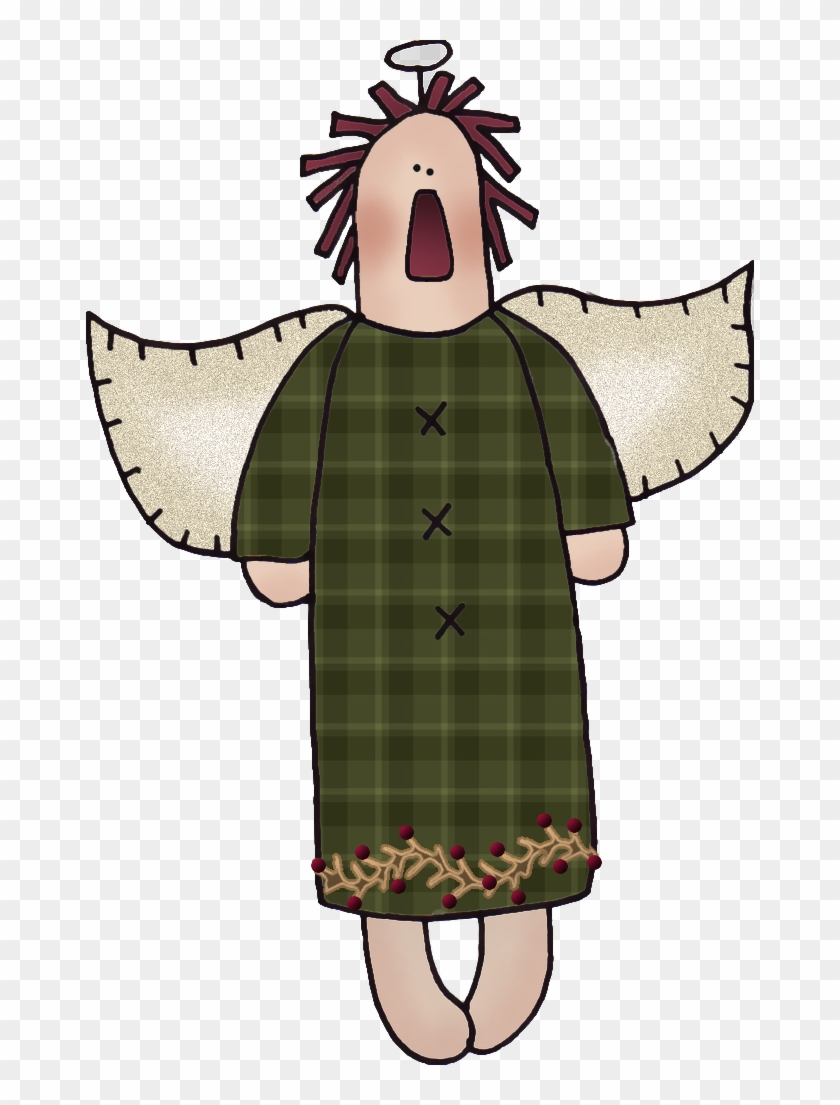 Free Raggedy Angel Graphic - Clip Art #4758