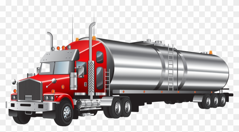 Tank Truck Png Clipart - Tanker Truck Png #4761