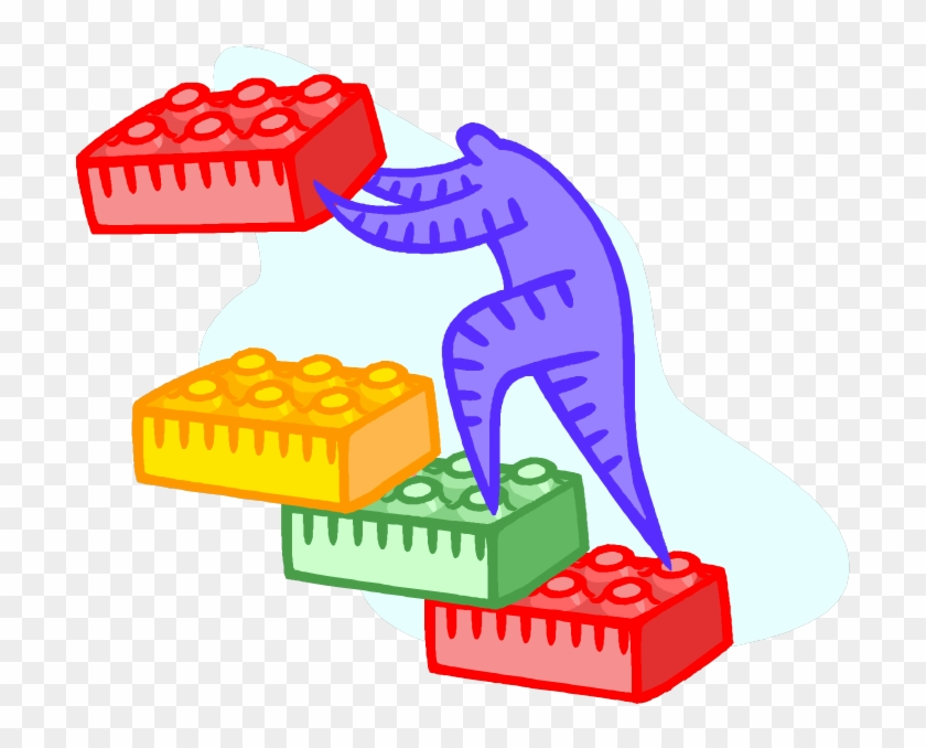Lego Border Clipart Kid - Building Something Clipart #4790