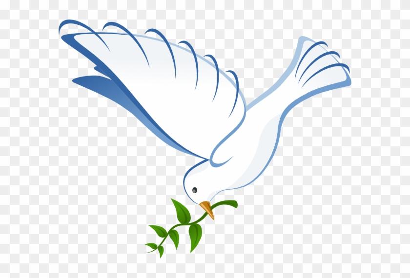 Dove Clip Art Png - White Dove #4760