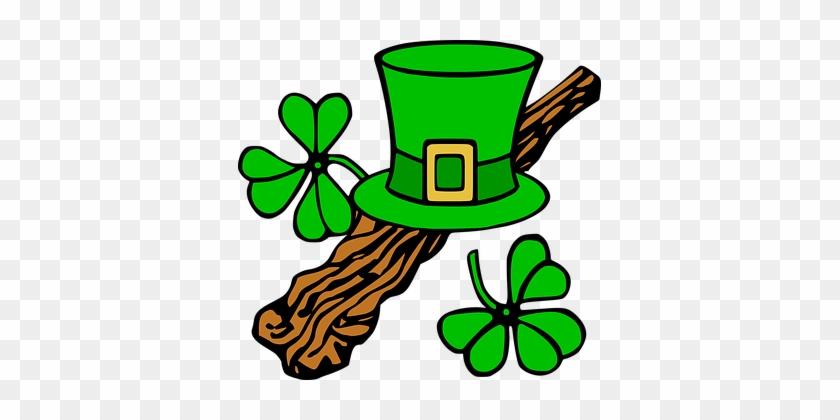 Saint Patricks Day Shamrock Ireland Leprec - St Patrick's Day Clip Art #4816