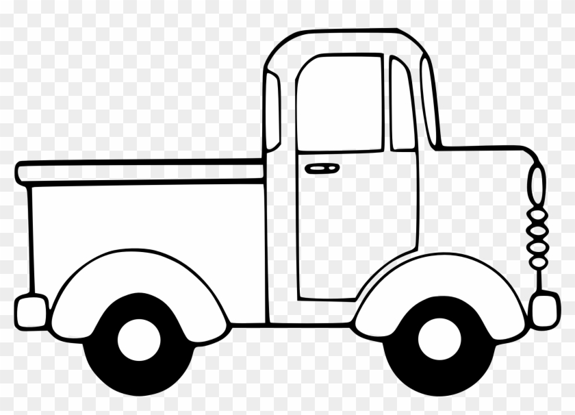 Truck Clip Art - Little Blue Truck Worksheet #4769