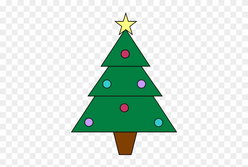 Christmas Tree Clip Art Clipart Small Graphic 4777